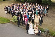 the big wedding group photo